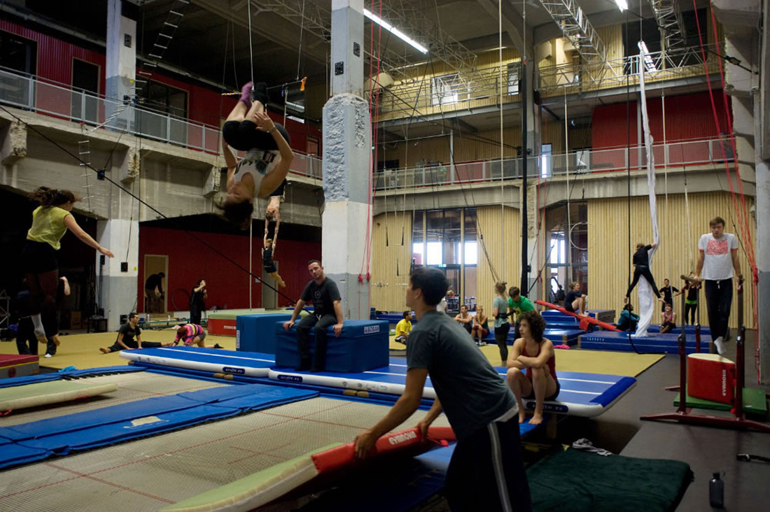 nieuwe trainingsruimte voor de codarts circus school