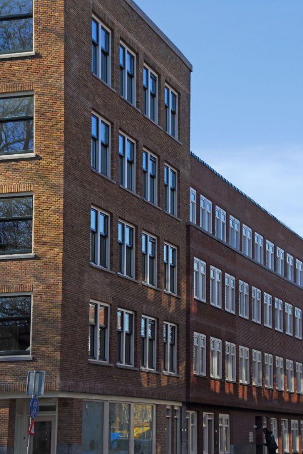 Foto van dordstelaan na de renovatie in rotterdam