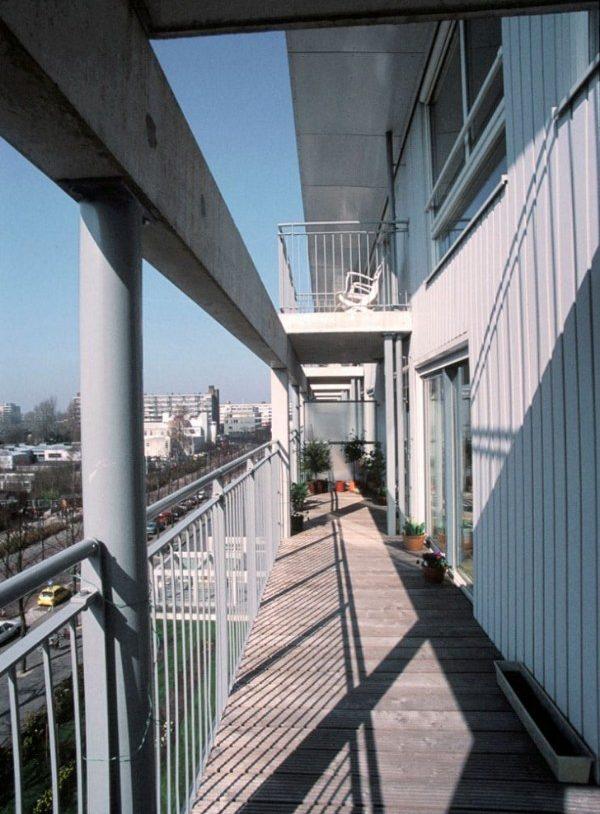 Foto van de galerij van huize patrimonium in amsterdam
