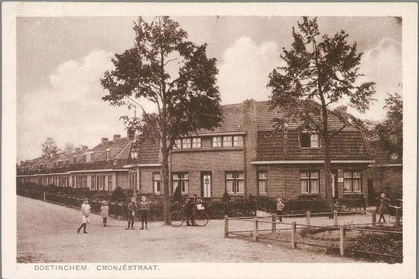 oude foto van het hoekhuis aan de paul krugelaan in doetinchem in de oude situatie voor de renovatie
