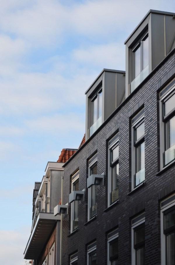 Ritmering en geleding van het appartementencomplex Hogewoerd in woerden