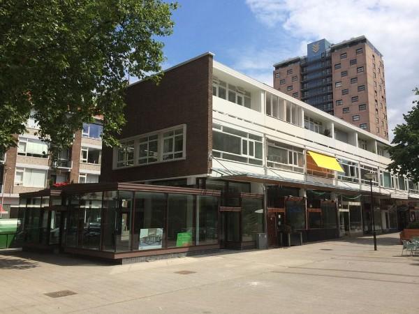 nieuwe situatie van het cafe bokaal aan de nieuwemarkt in rotterdam
