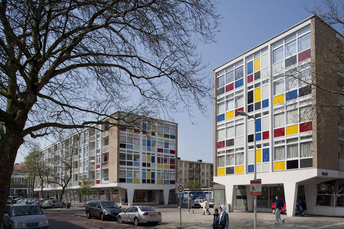 Foto van het gerenoveerde verfdozen in amsterdam